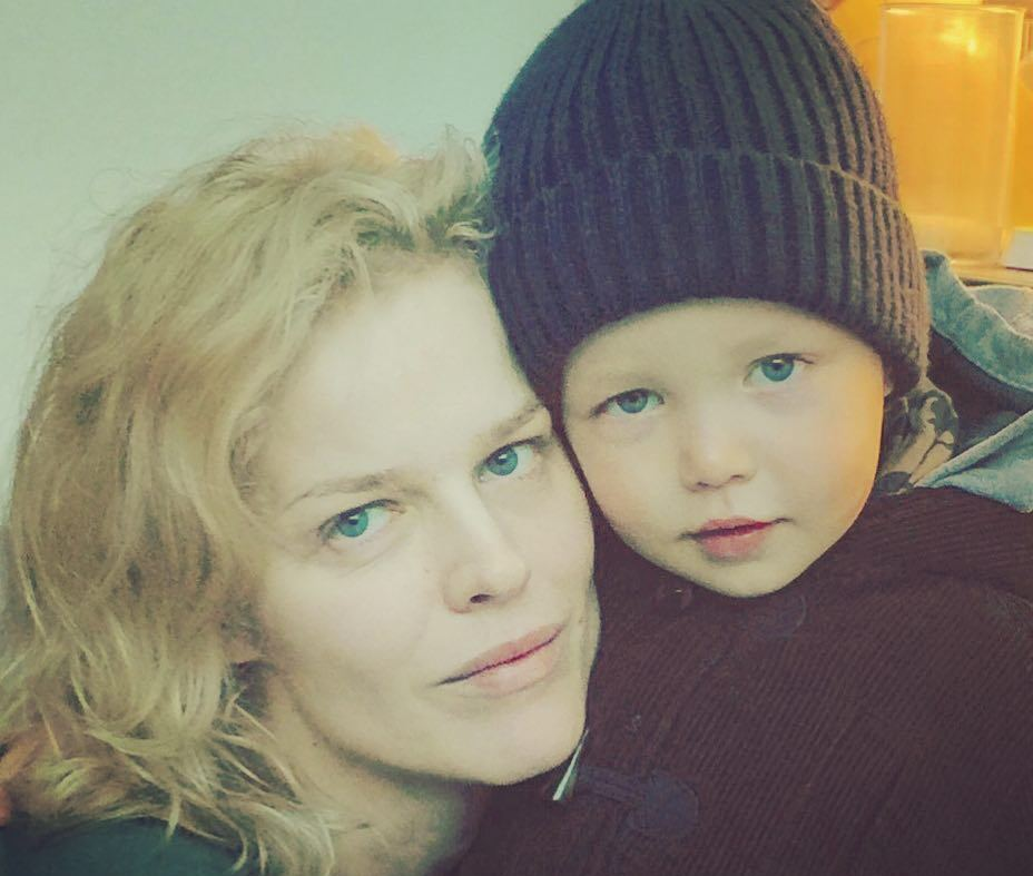 Eva Herzigova and Gregorio Marsiaj's children - son Edward Marsiaj