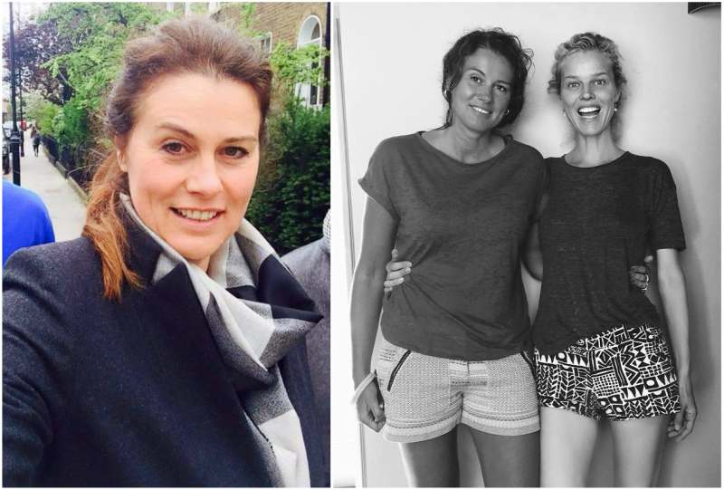 Eva Herzigova's siblings - sister Lenka Vysinova