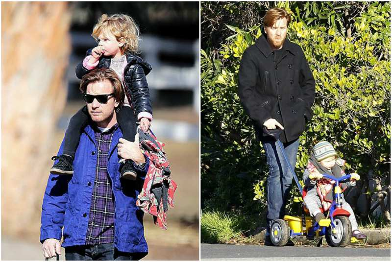 Ewan McGregor's children - adopted daughter Anouk McGregor
