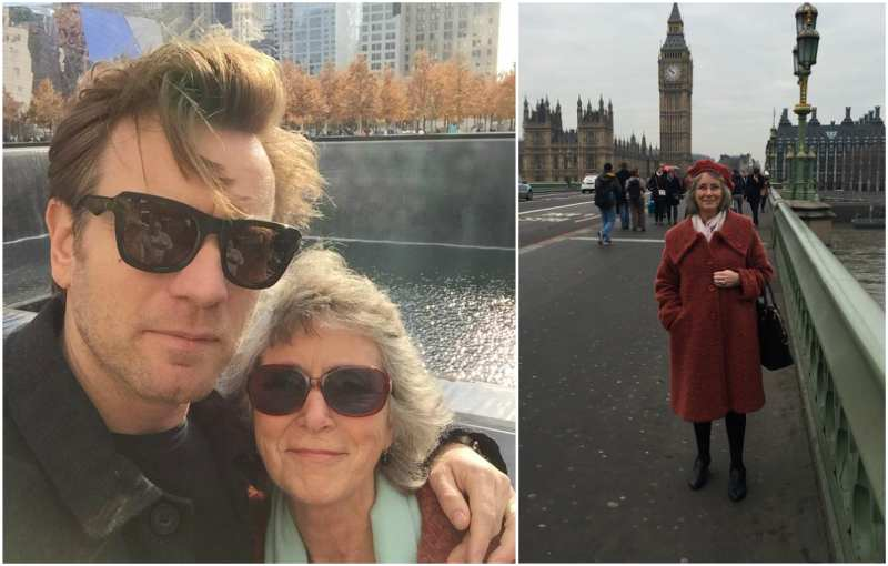 Ewan McGregor's family - mother Carole Diane McGregor