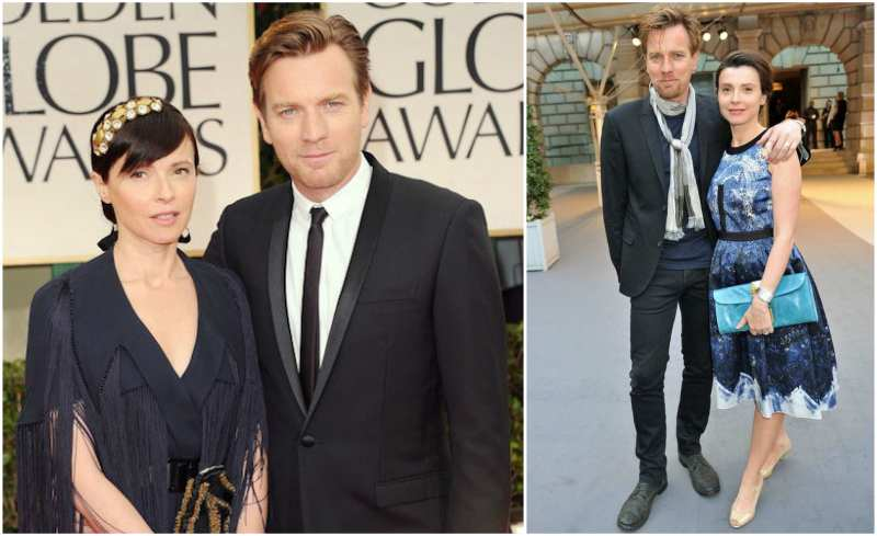 Ewan McGregor's family - wife Eve Mavrakis