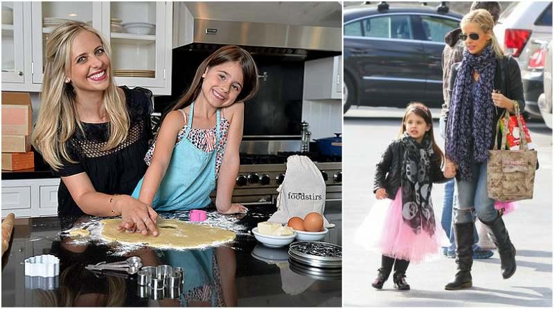Freddie Prinze Jr. and Sarah Michelle Gellar  children  - daughter Charlotte Grace Prinze