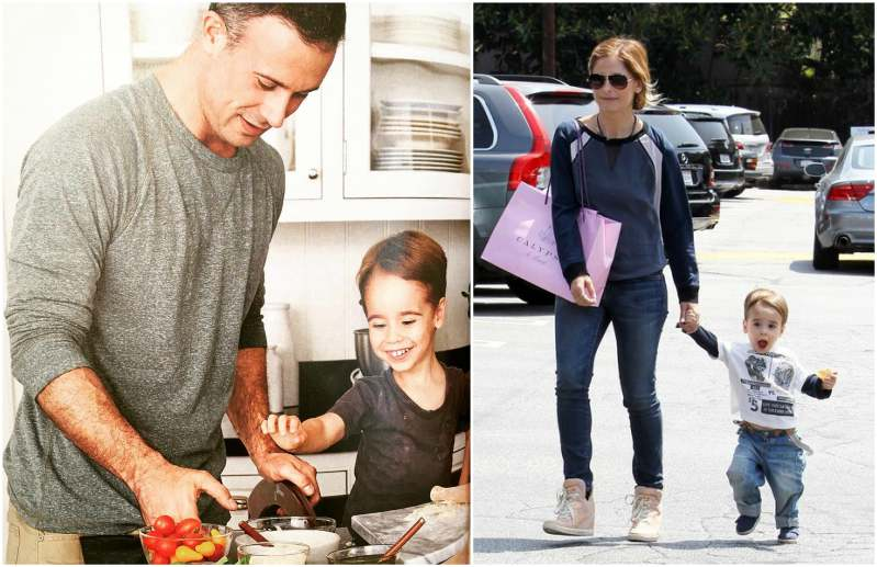 Freddie Prinze Jr. and Sarah Michelle Gellar  children  - son Rocky James Prinze