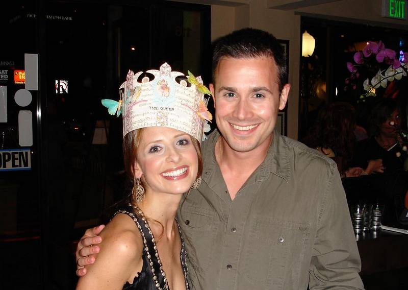Freddie Prinze Jr. family - wife Sarah Michelle Gellar