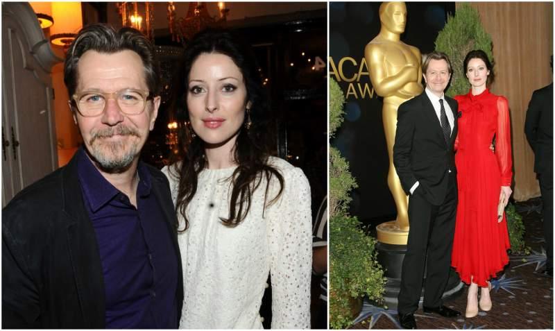 Gary Oldman's family - ex-wife Alexandra Edenborough