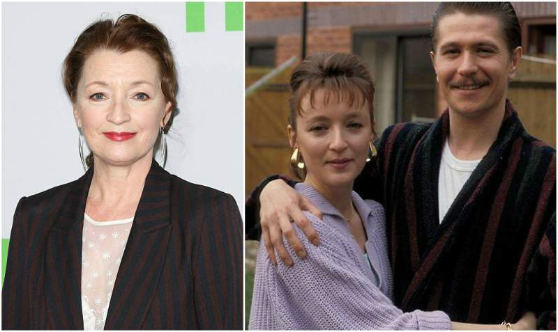 Gary Oldman's family - ex-wife Lesley Manville