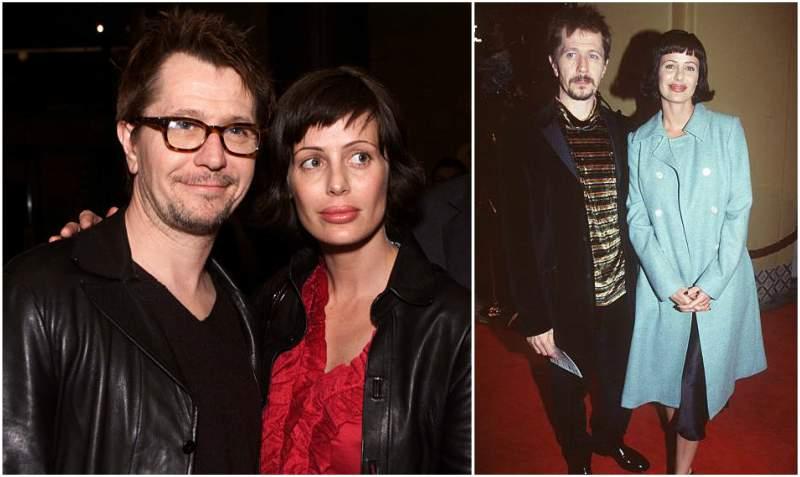 Gary Oldman's family - ex-wife Donya Fiorentino