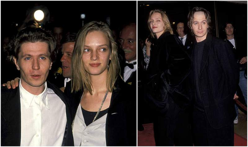 Gary Oldman's family - ex-wife Uma Karuna Thurman