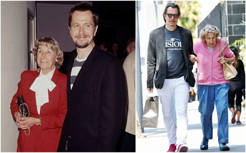 Gary Oldman's family - mother Kathleen Oldman