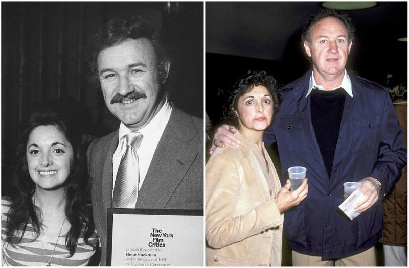 Gene Hackman's family - ex-wife Fay Maltese