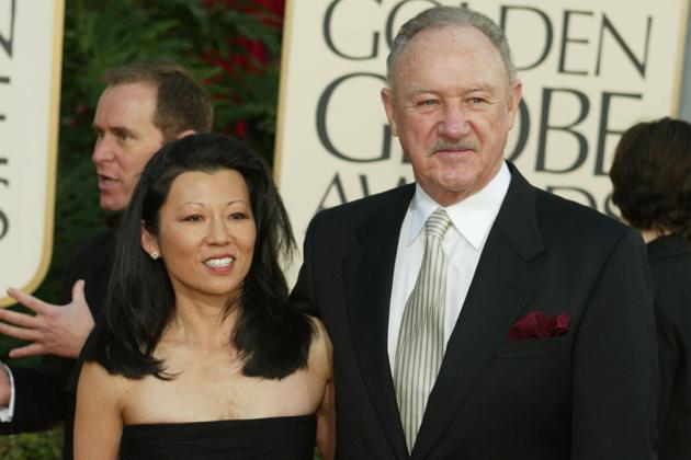 Gene Hackman's family - wife Betsy Arakawa