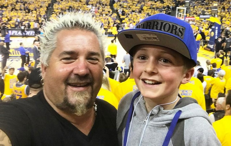 Guy Fieri's children - son Ryder Fieri