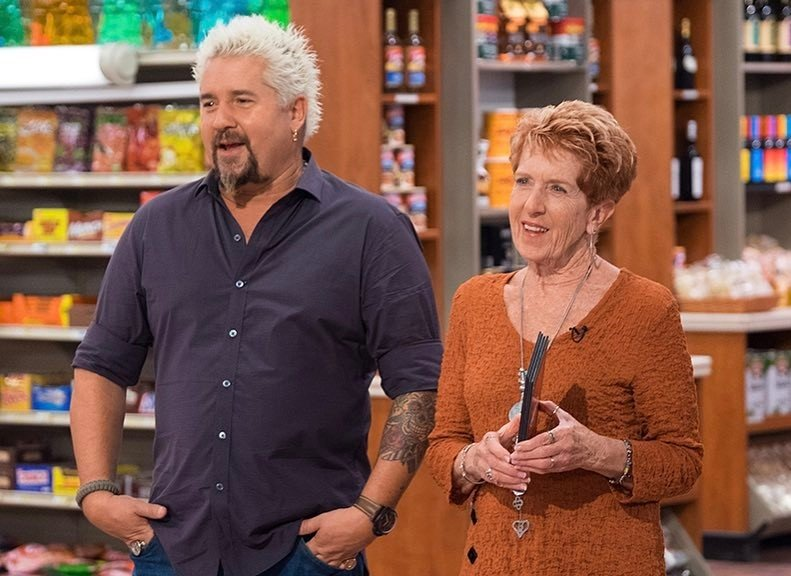 Guy Fieri's family - mother Penelope Ferry