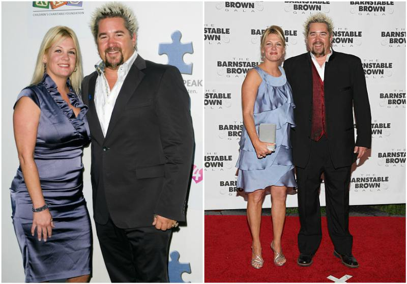 Guy Fieri's family - wife Lori Fieri