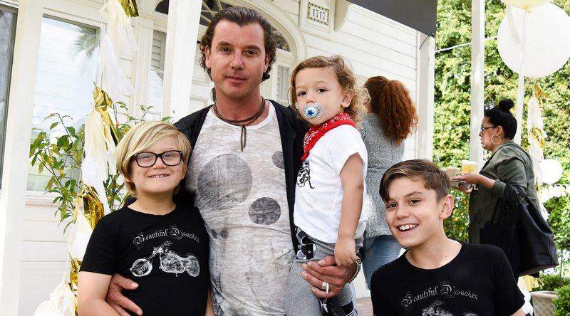 Gwen Stefani and Gavin Rossdale's children