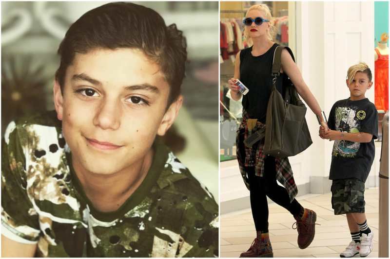 Gwen Stefani's children - son Kingston James McGregor Rossdale