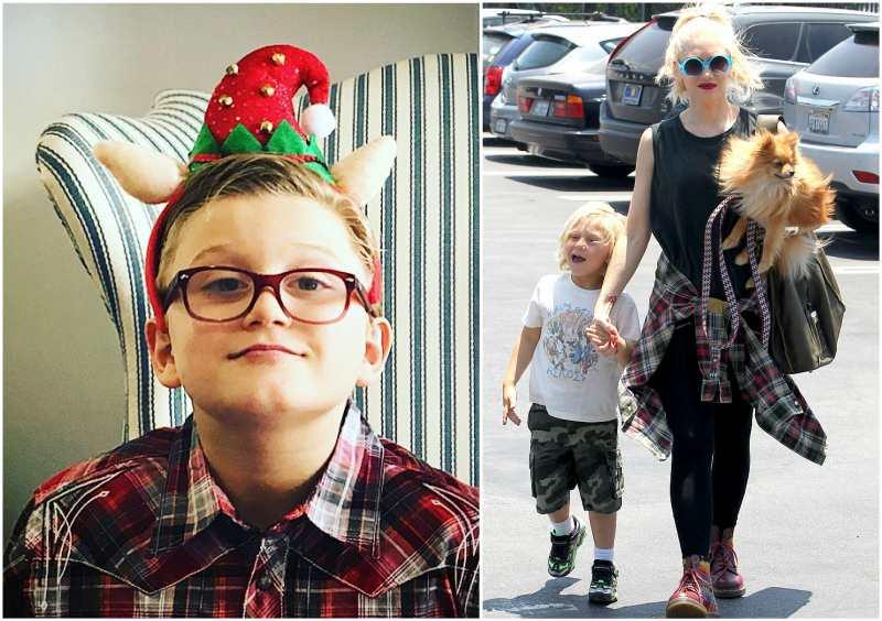 Gwen Stefani and Gavin Rossdale's children - son Zuma Nesta Rock Rossdale