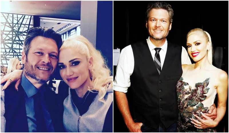 Gwen Stefani's family - partner Blake Shelton