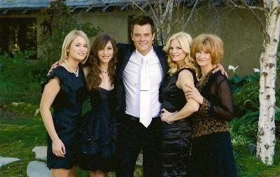 Josh Duhamel's family - mother Bonnie Kemper and sisters