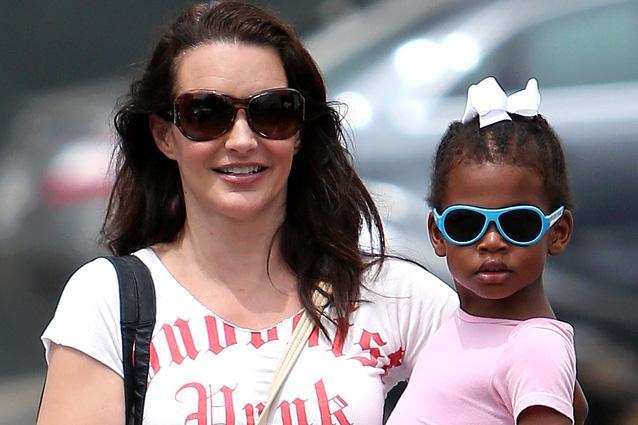 Kristin Davis' children - adopted daughter Gemma Rose Davis