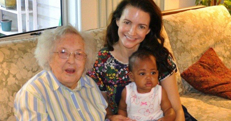 Kristin Davis' family - paternal grandmother MaryFlossieDavis