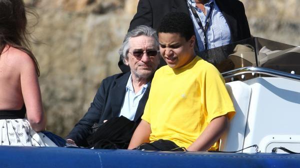 Robert De Niro's children - son Elliot De Niro