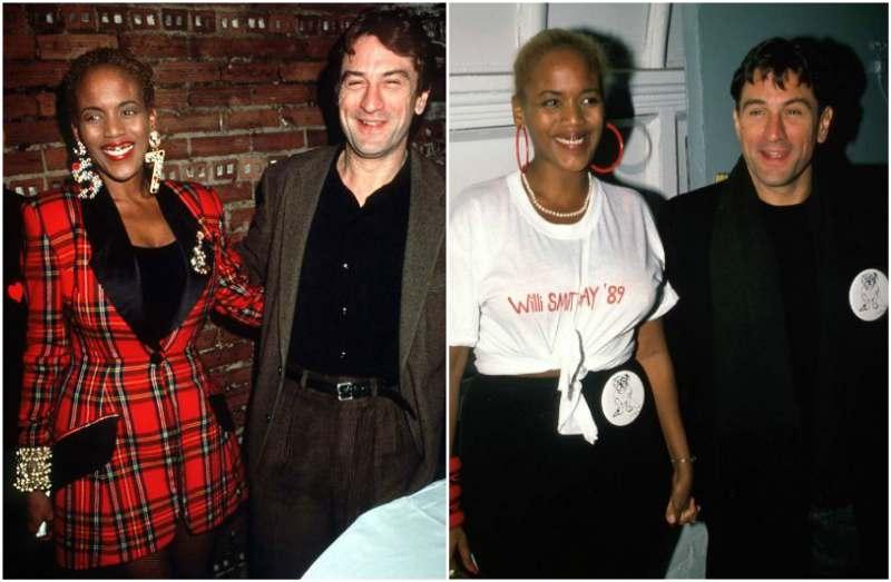 Robert De Niro's family - ex-partner Toukie Smith