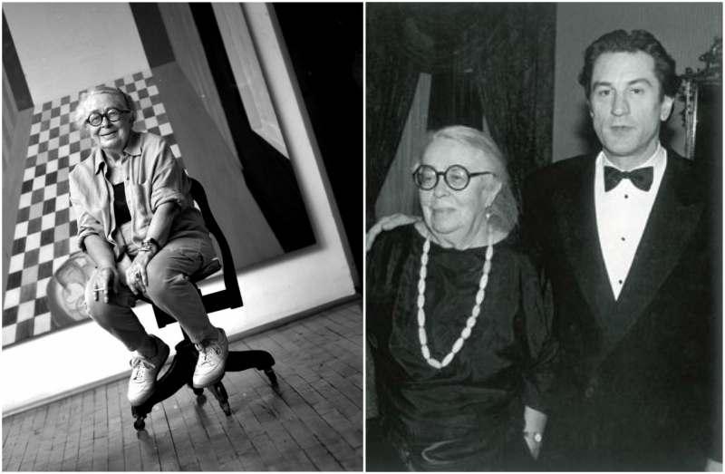 Robert De Niro's family - mother Virginia Admiral