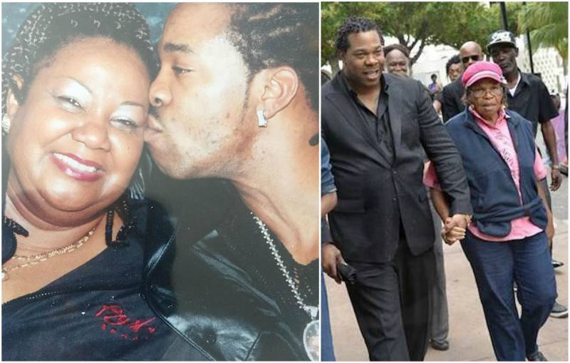 Busta Rhymes' family - mother Geraldine Green