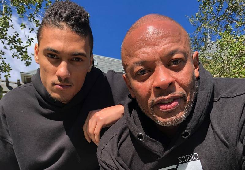 Dr Dre children - adopted son Tyler Young