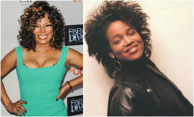 Dr Dre's family - ex-girlfriend Michel'le Denise Toussaint