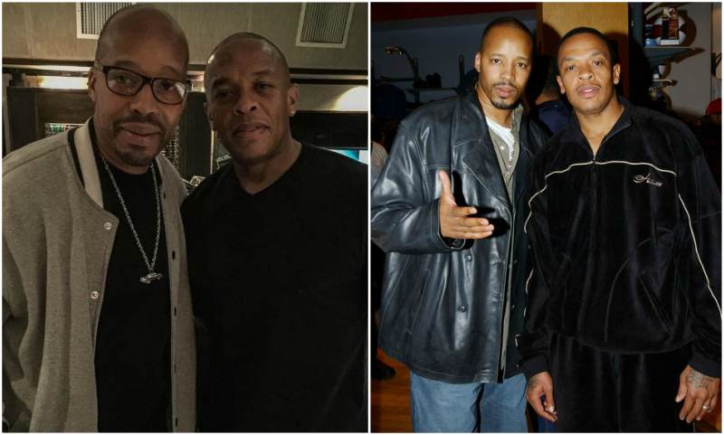 Dr Dre's siblings - step-brother Warren G
