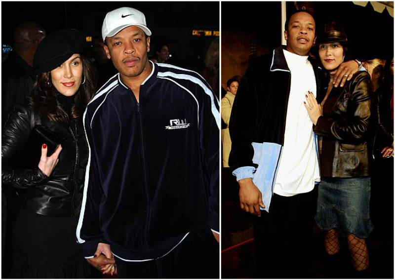 Dr Dre's family - wife Nicole Young