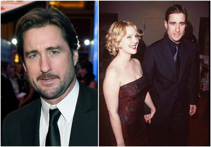 Drew Barrymore's love life - ex-boyfriend Luke Wilson