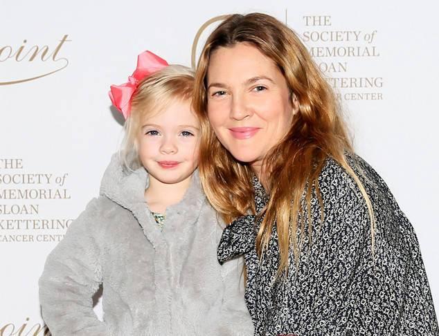 Drew Barrymore's children - daughter Frankie Barrymore Kopelman
