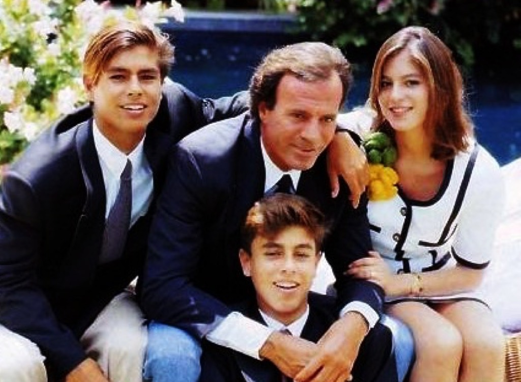 Enrique Iglesias' family - father and siblings