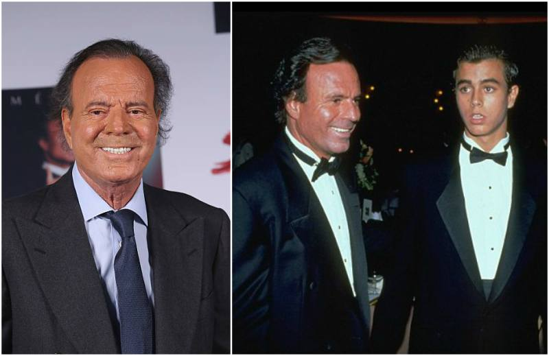 Enrique Iglesias' family - father Julio Iglesias