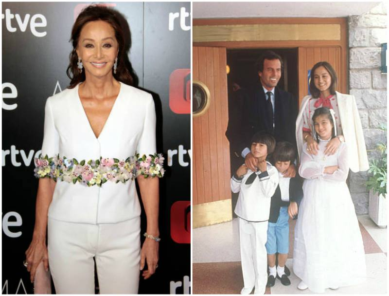 Enrique Iglesias' family - mother Isabel Preysler
