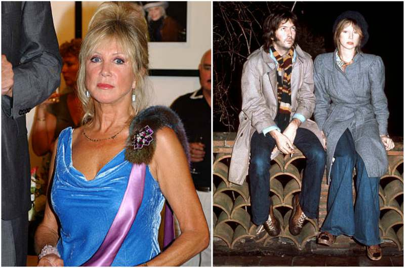 Eric Clapton's family - ex-wife Pattie Boyd