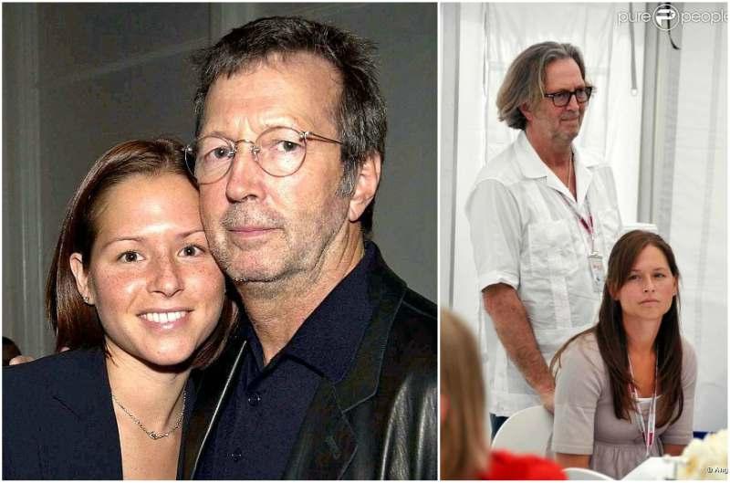 Eric Clapton's family - wife Melia McEnery