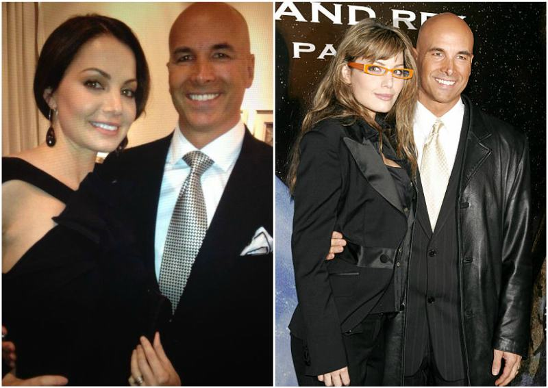 Erica Durance's family - husband David Palffy