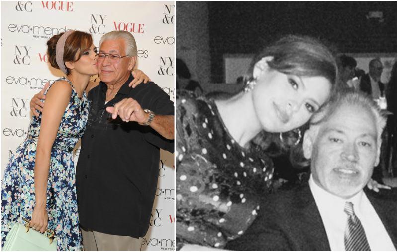 Eva Mendes' family - father Juan Carlos Mendez