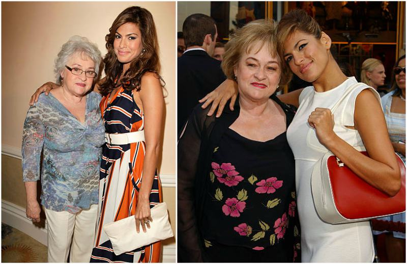 Eva Mendes' family - mother Eva Perez Suarez