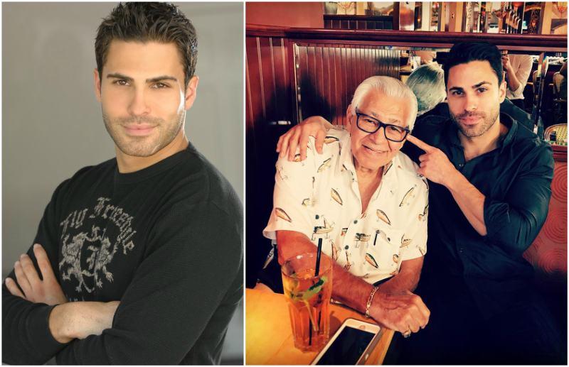 Eva Mendes' siblings - half-brother Carlo Mendez