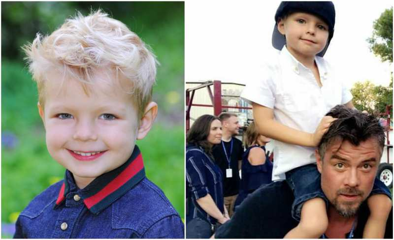 Fergie and Josh Duhamel's children  - son Axl Jack Duhamel