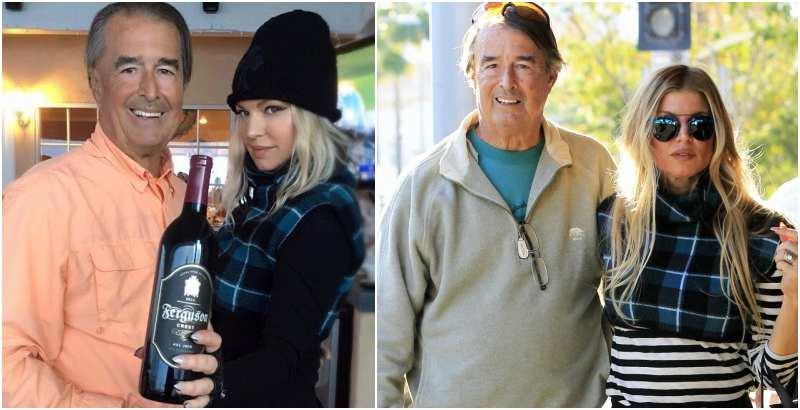 Fergie's family - father Jon Patrick Ferguson