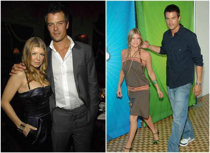 Fergie's family - husband Josh Duhamel