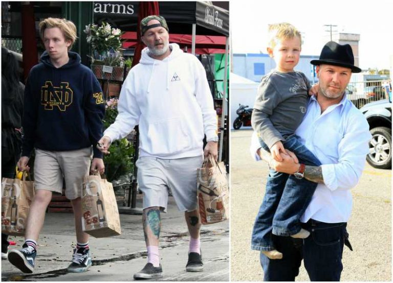 limp bizkit rocker fred durst and his family here is all