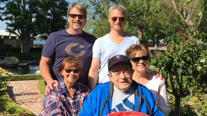 forrest gump star gary sinise and his family life have a