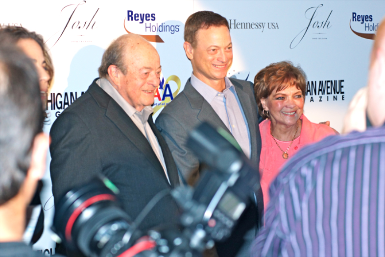 Gary Sinise's family - parents